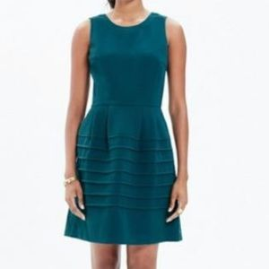MADEWELL Midnight Dress in Spruce sz 6